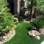 Front Yard and Garden Walkway Landscaping Inspirations 42